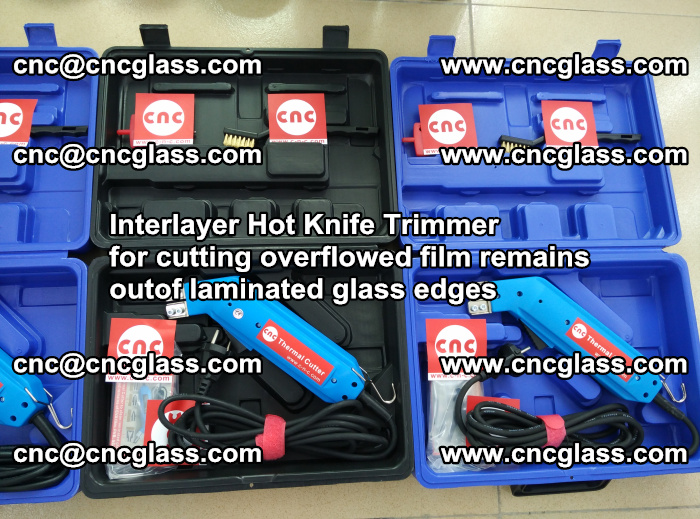 Interlayer Hot Knife Trimmer for cutting overflowed film remains outof laminated glass edges (11)