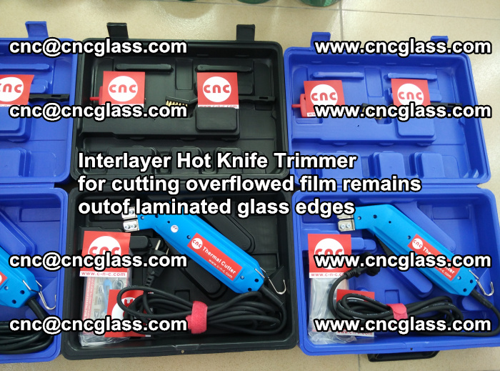 Interlayer Hot Knife Trimmer for cutting overflowed film remains outof laminated glass edges (12)