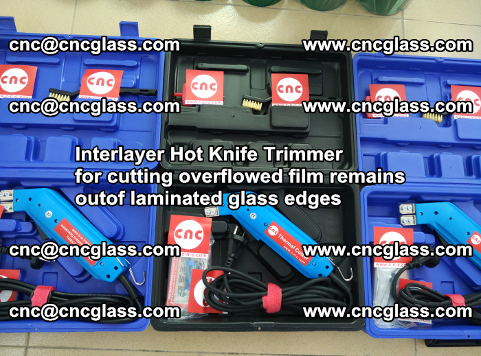 Interlayer Hot Knife Trimmer for cutting overflowed film remains outof laminated glass edges (14)