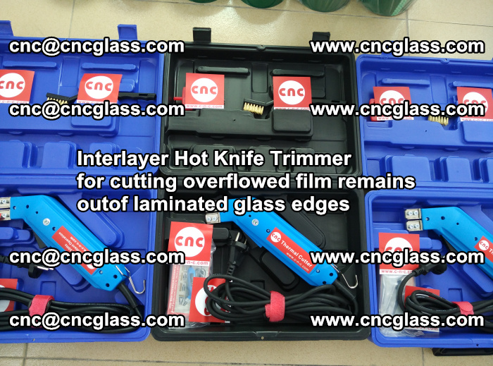 Interlayer Hot Knife Trimmer for cutting overflowed film remains outof laminated glass edges (15)