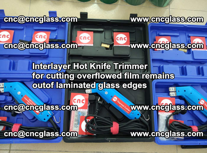 Interlayer Hot Knife Trimmer for cutting overflowed film remains outof laminated glass edges (16)
