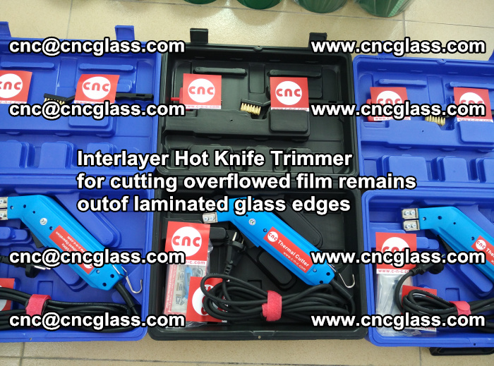 Interlayer Hot Knife Trimmer for cutting overflowed film remains outof laminated glass edges (17)