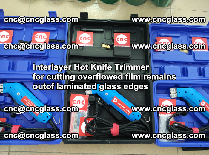 Interlayer Hot Knife Trimmer for cutting overflowed film remains outof laminated glass edges (18)