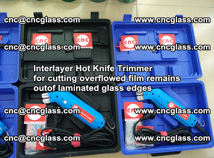 Interlayer Hot Knife Trimmer for cutting overflowed film remains outof laminated glass edges (2)