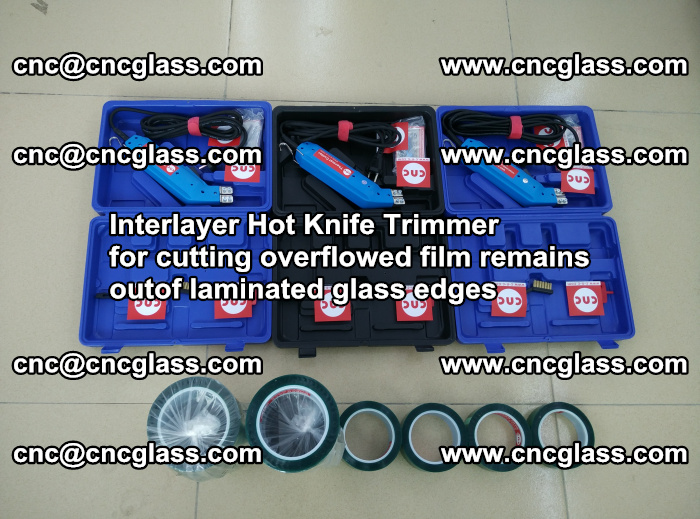 Interlayer Hot Knife Trimmer for cutting overflowed film remains outof laminated glass edges (21)