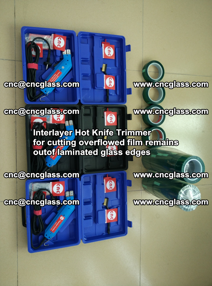 Interlayer Hot Knife Trimmer for cutting overflowed film remains outof laminated glass edges (23)