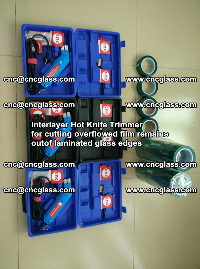 Interlayer Hot Knife Trimmer for cutting overflowed film remains outof laminated glass edges (24)