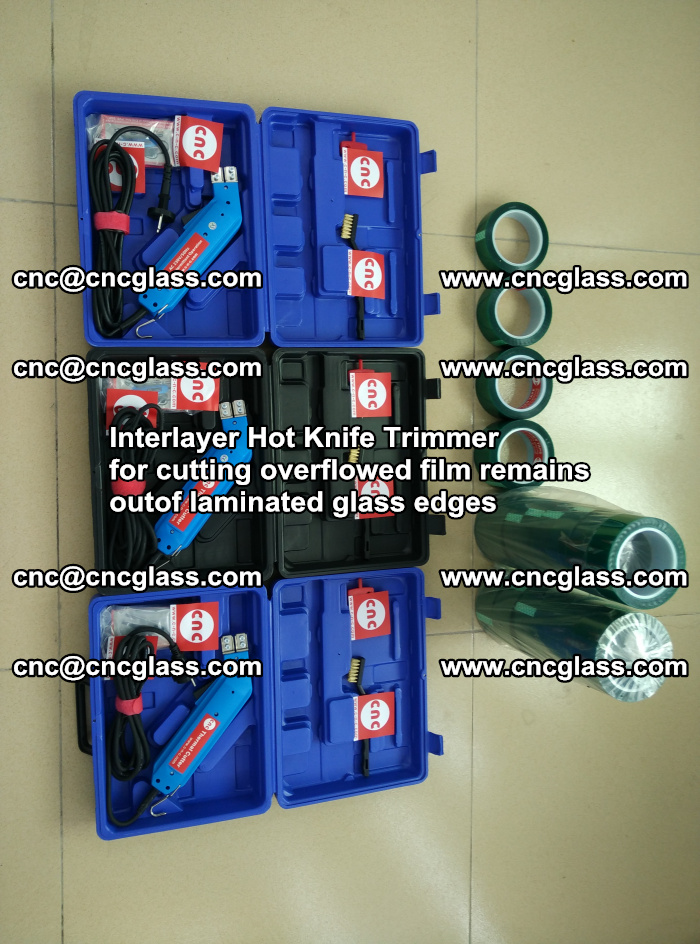 Interlayer Hot Knife Trimmer for cutting overflowed film remains outof laminated glass edges (25)