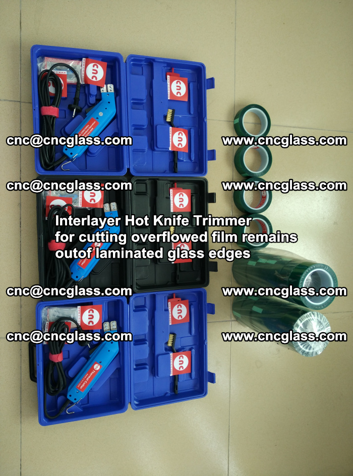Interlayer Hot Knife Trimmer for cutting overflowed film remains outof laminated glass edges (27)