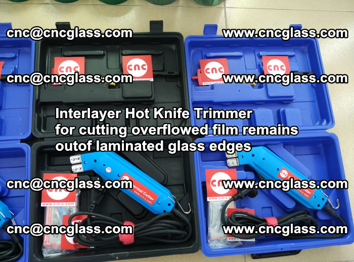 Interlayer Hot Knife Trimmer for cutting overflowed film remains outof laminated glass edges (3)