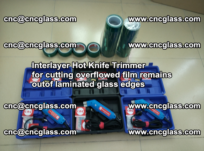 Interlayer Hot Knife Trimmer for cutting overflowed film remains outof laminated glass edges (30)
