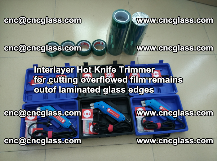 Interlayer Hot Knife Trimmer for cutting overflowed film remains outof laminated glass edges (31)