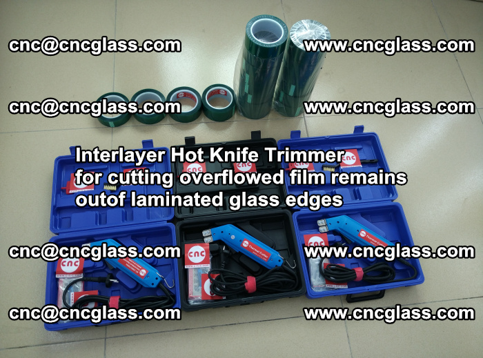 Interlayer Hot Knife Trimmer for cutting overflowed film remains outof laminated glass edges (32)