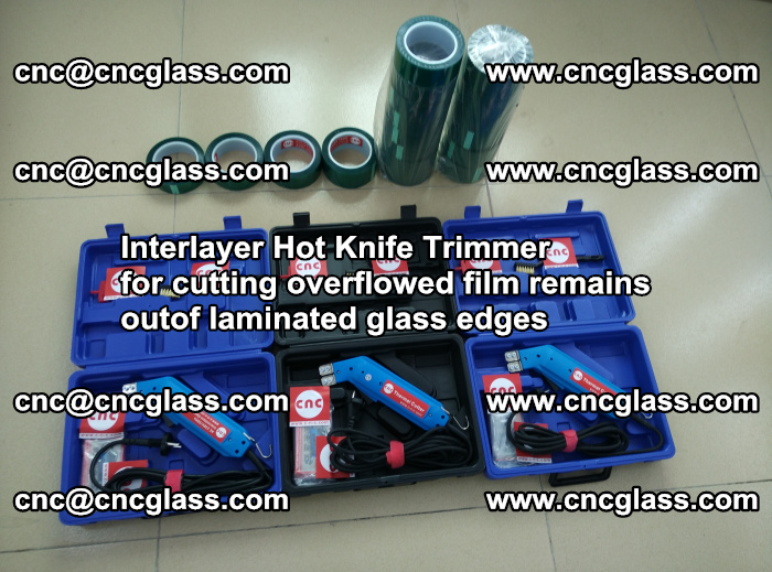 Interlayer Hot Knife Trimmer for cutting overflowed film remains outof laminated glass edges (33)