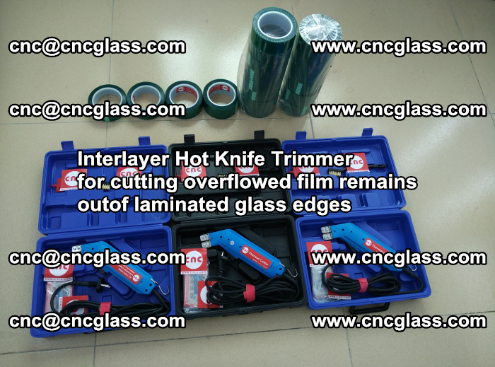 Interlayer Hot Knife Trimmer for cutting overflowed film remains outof laminated glass edges (34)