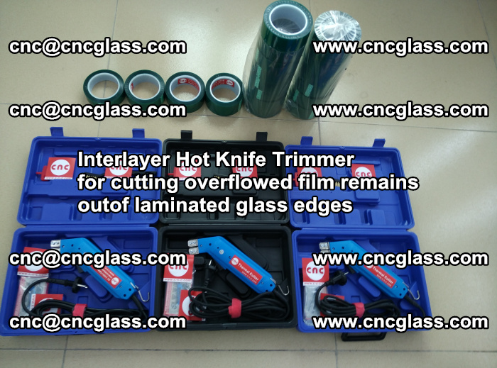 Interlayer Hot Knife Trimmer for cutting overflowed film remains outof laminated glass edges (36)