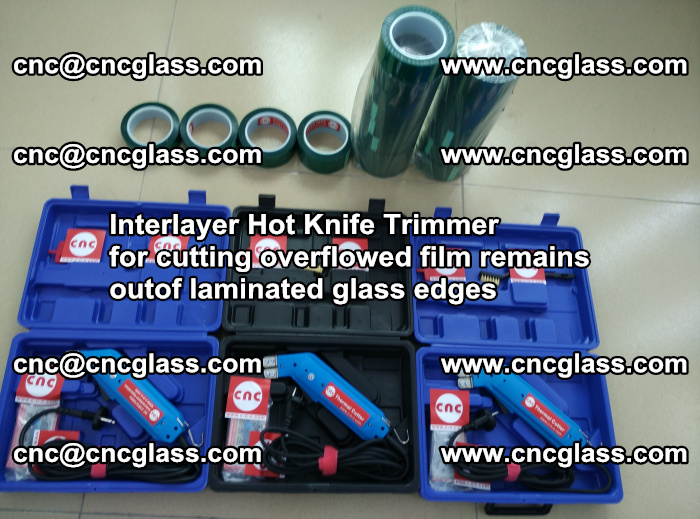 Interlayer Hot Knife Trimmer for cutting overflowed film remains outof laminated glass edges (37)