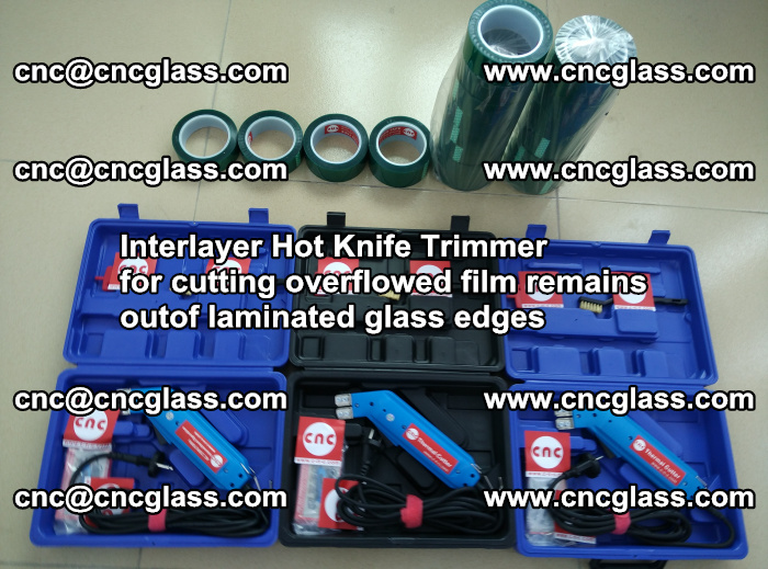 Interlayer Hot Knife Trimmer for cutting overflowed film remains outof laminated glass edges (38)