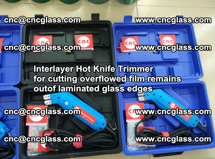 Interlayer Hot Knife Trimmer for cutting overflowed film remains outof laminated glass edges (4)