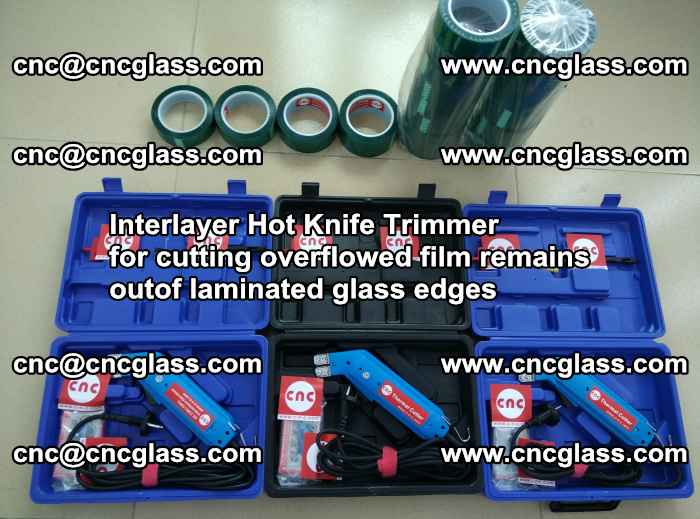 Interlayer Hot Knife Trimmer for cutting overflowed film remains outof laminated glass edges (40)