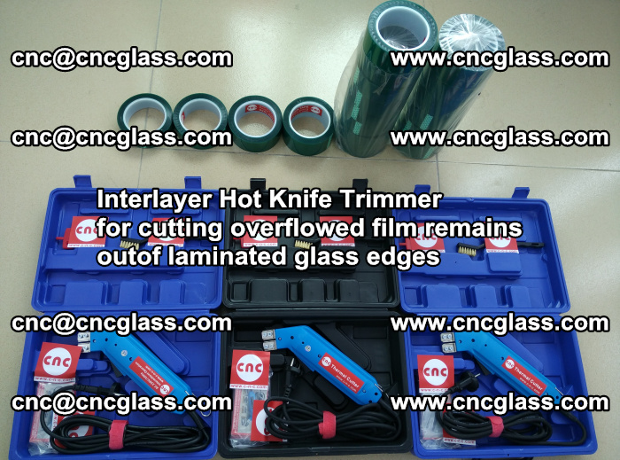 Interlayer Hot Knife Trimmer for cutting overflowed film remains outof laminated glass edges (42)