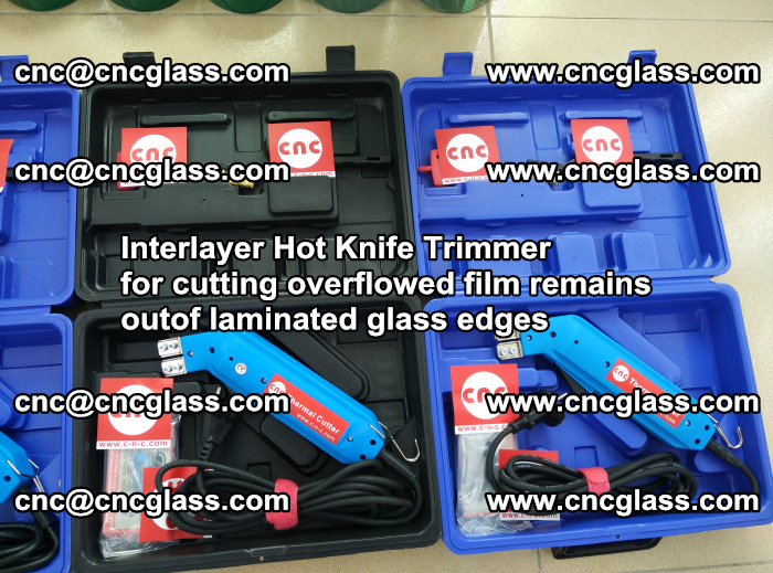 Interlayer Hot Knife Trimmer for cutting overflowed film remains outof laminated glass edges (5)