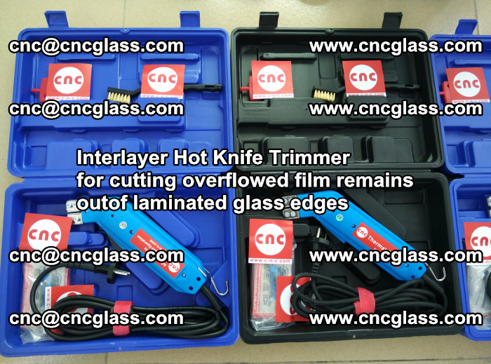 Interlayer Hot Knife Trimmer for cutting overflowed film remains outof laminated glass edges (50)
