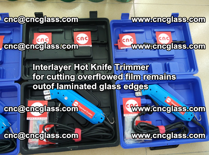Interlayer Hot Knife Trimmer for cutting overflowed film remains outof laminated glass edges (6)