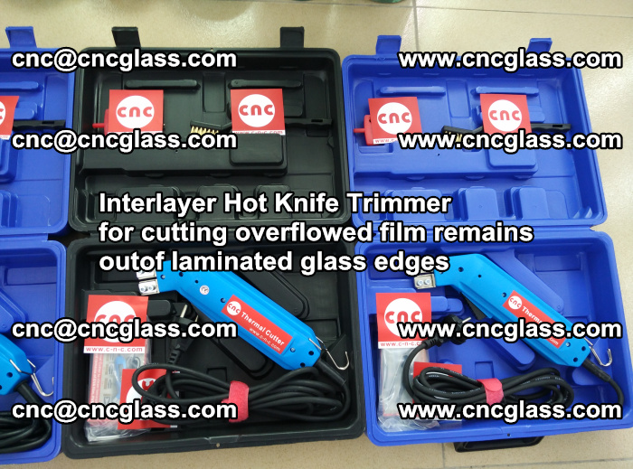 Interlayer Hot Knife Trimmer for cutting overflowed film remains outof laminated glass edges (7)