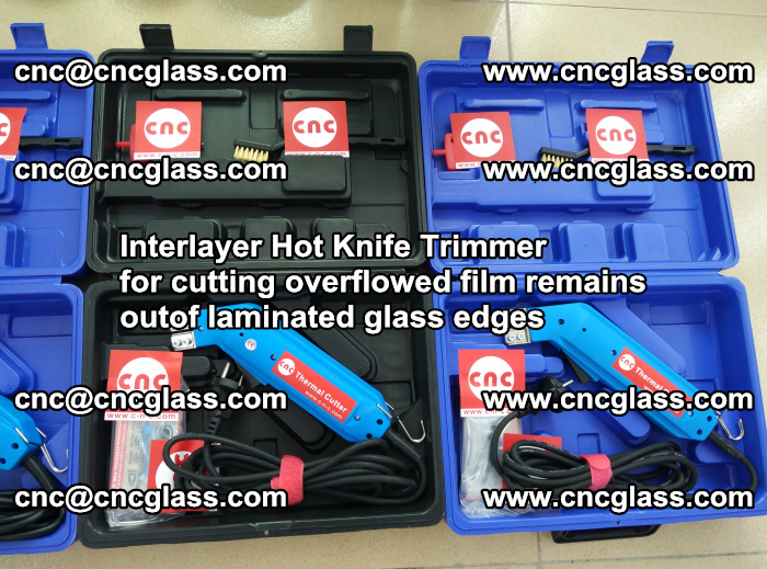 Interlayer Hot Knife Trimmer for cutting overflowed film remains outof laminated glass edges (8)