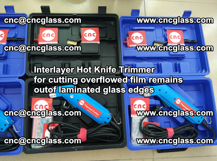 Interlayer Hot Knife Trimmer for cutting overflowed film remains outof laminated glass edges (9)
