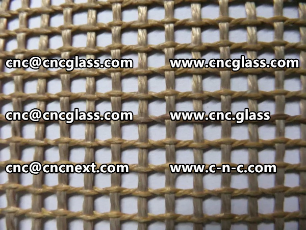 TEFLON MESH FOR SAFETY GLAZING VACUUMING (1)